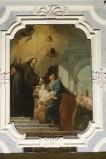 Schiavoni M. sec. XVIII, San Francesco di Paola disegna il viso a un neonato