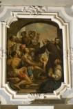 Ambito veneto sec. XVIII, San Francesco di Paola ridona la vista a un cieco