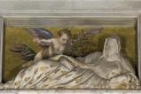 Bottega veneta inizio sec. XVII, Angioletto con fiori
