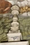 Bottega veneta inizio sec. XVII, Candeliere con fiamma ardente 1/2