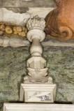 Bottega veneta inizio sec. XVII, Candeliere con fiamma ardente 2/2