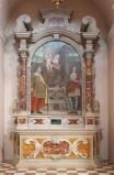 Maestranze friulane sec. XVIII, Altare laterale dei Santi Paolo e Giovanni
