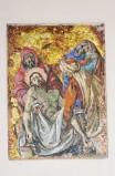 Pittino F. sec. XX, Gesù deposto nel sepolcro