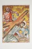 Pittino F. sec. XX, Gesù cade sotto la croce la seconda volta