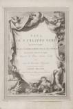 Alessandri I. (1793), Frontespizio di libro