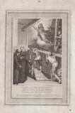 Alessandri I. (1788), La Madonna appare a San Filippo Neri