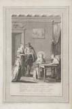 Alessandri I. (1786), San Filippo Neri a casa con i genitori