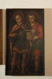 Bottega veneta sec. XVIII, Cornice del dipinto con San Vito e San Modesto