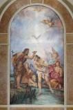 Ambito veneto sec. XX, Battesimo di Gesù Cristo