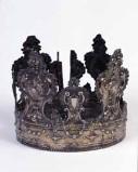 Bottega veneta sec. XIX, Corona della Madonna del Carmine
