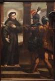 Ambito veneto sec. XVII, Sant'Antonio da Padova riceve dei doni
