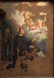 Ambito veneto sec. XIX, Sant'Antonio da Padova ha la visione di Gesù Bambino