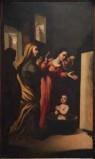 Ambito veneto sec. XVII, Sant'Antonio da Padova salva un bambino