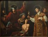 Giarola A. sec. XVII, Sant'Antonio da Padova e il miracolo dell'asino