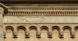 Adamino da San Giorgio sec. XIII, Fregio a girali di vite con dromedario