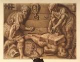 Ambito veneto sec. XIX, San Giorgio viene legato ad una pietra