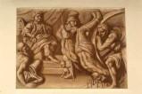 Ambito veneto sec. XIX, Martirio di San Giorgio legato ad una ruota