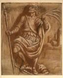 Ambito veneto sec. XIX, San Giorgio con palma del martirio