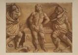Ambito veneto sec. XIX, San Giorgio flagellato