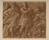 Ambito veneto sec. XIX, San Giorgio entra in città