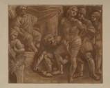 Ambito veneto sec. XIX, San Giorgio davanti al giudice