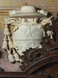 Aglio D. sec. XVII-XVIII, Stemma della famiglia Noris