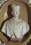Aglio D. sec. XVII-XVIII, Busto del cardinale Enrico Noris