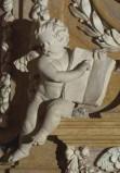 Aglio D. sec. XVII-XVIII, Angelo con libro 1/2