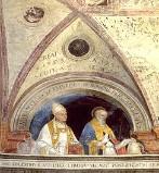Morone F. sec. XVI, Papa Urbano V e San Celestino