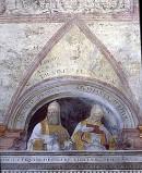 Morone F. sec. XVI, Papa Pasquale I e papa Stefano III