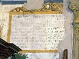 "Morone F. sec. XVI, Motivo decorativo a cartiglio ""TRIBUNVS MEMVS"""