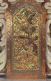Bott. Italia sett. sec. XVIII, Sportello con Resurrezione di Gesù