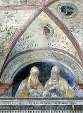 Morone F. sec. XVI, Papa Agate I e papa Adeodato I