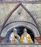 Morone F. sec. XVI, Papa Pasquale II e papa Gelasio II