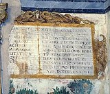 "Morone F. sec. XVI, Motivo decorativo a cartiglio ""REX BRITA"""