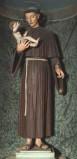 Bott. veronese sec. XIX, Sant'Antonio da Padova con Gesù Bambino