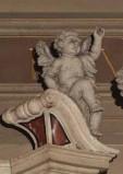 Turrini C. prima metà sec. XVIII, Angioletto con braccio sinistro alzato