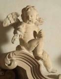 Aglio D. (1700), Angioletto seduto con gamba sinistra distesa
