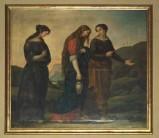 Artigianato veneto sec. XIX, Cornice modanata e dorata 1/2