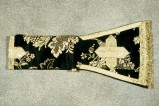 Manifattura veneta (1899), Manipolo nero con fiori 1/3