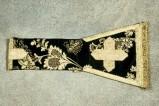 Manifattura veneta (1899), Manipolo nero con fiori 2/3