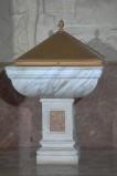 Bottega veneta (1942), Fonte battesimale