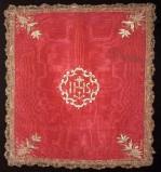 Manifattura italiana sec. XIX, Velo di calice rosso