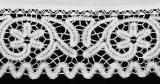 Manifattura lombarda sec. XIX-XX, Tovaglia d'altare lavorata