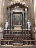 Ambito bergamasco sec. XVIII-XIX, Altare di S. Caterina d' A.