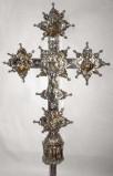 Ambito lombardo sec. XIV-XIX, Croce processionale