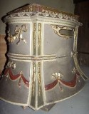 Ambito bergamasco sec. XIX, Trono processionale