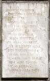 Ambito bergamasco sec. XIX, Lapide commemorativa