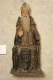 Attribuito a Giolfino A. ultimo quarto sec. XV, S. Antonio abate benedicente