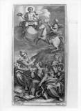 Zucchi F. (1726), Poeta a cavallo di Pegaso presenta la sua opera ad Apollo